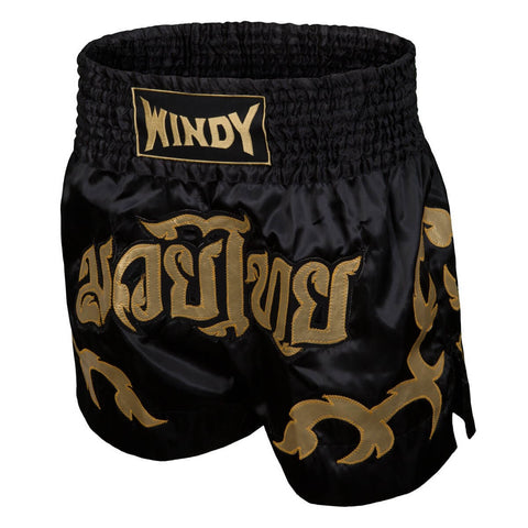Windy Sport Gold Leaf Muay Thai Shorts - Main