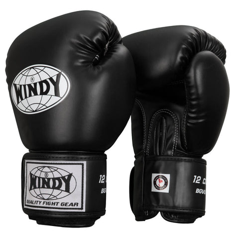 Windy Synthetic Fitness Boxing Gloves - Main