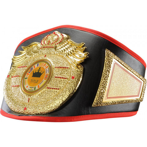 Wings Of Prey Gold Nugget Championship Title Belt - Main
