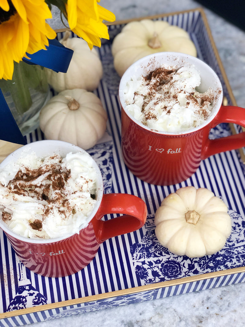 Fall Inspired Pumpkin Spice Hot Chocolate Crockpot Recipe