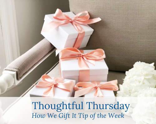 Thoughtful Gifting Tips for a gracious life filled with Southern hospitality