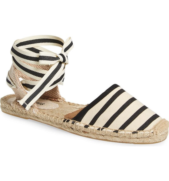Women's Espadrilles with Stripes