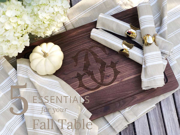 Entertaining Must-Haves for a Cozy, Inviting Fall Gathering