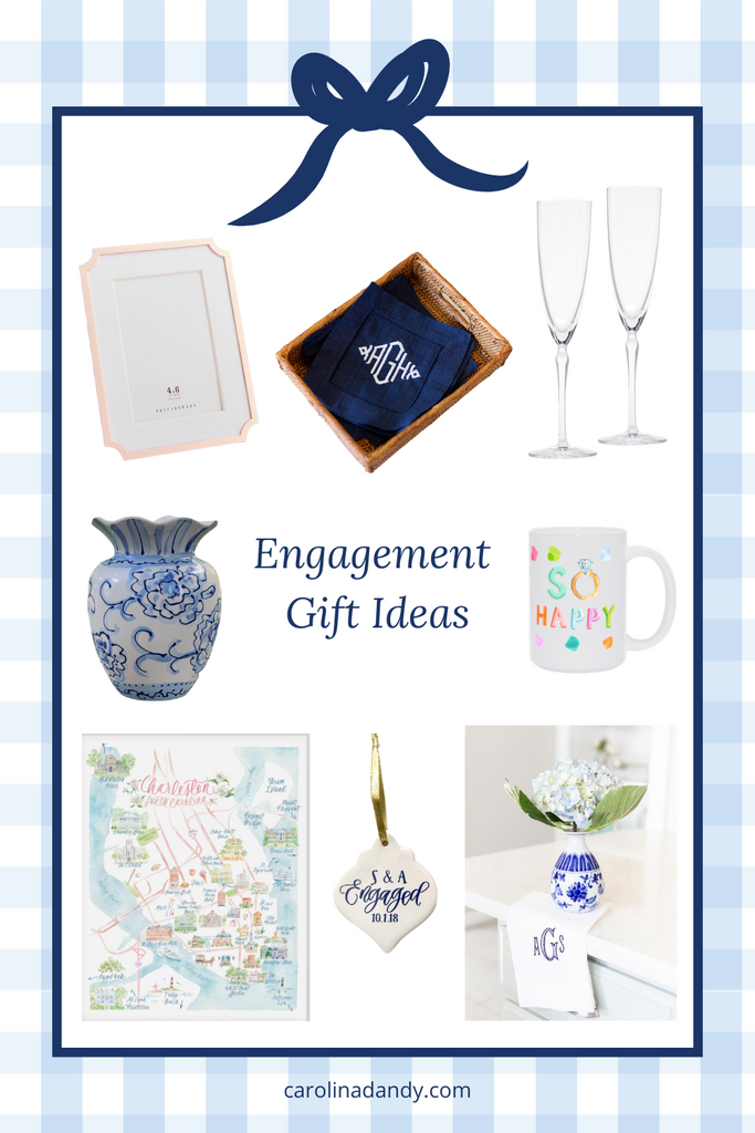 Unique and thoughtful engagement gift ideas