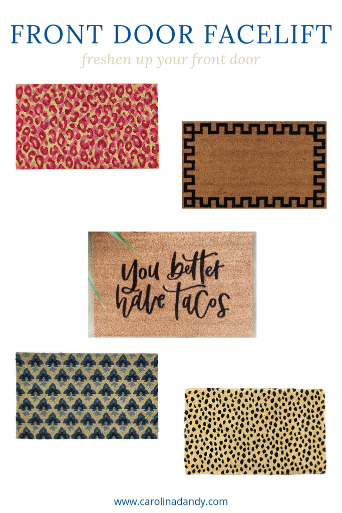 Door Mats To Give Your Front Door A Facelift