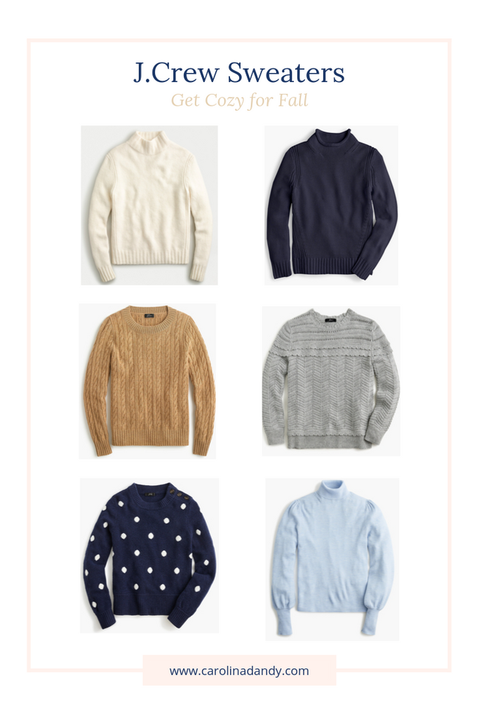 Preppy Cozy J.Crew Sweaters
