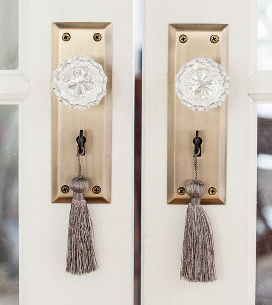 Tassels Hanging From Doorknob