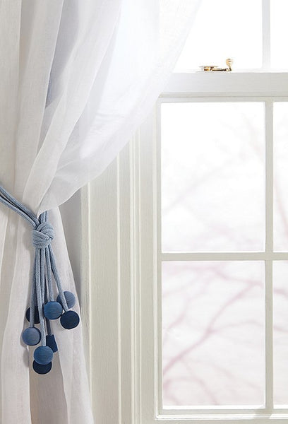 Tassel tiebacks for curtains