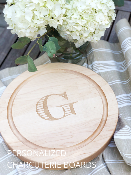 Personalized Cutting Board, Personalized Charcuterie Board