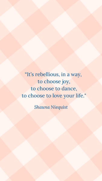 Free Phone Wallpaper Download on Joy- Shauna Niequist quote