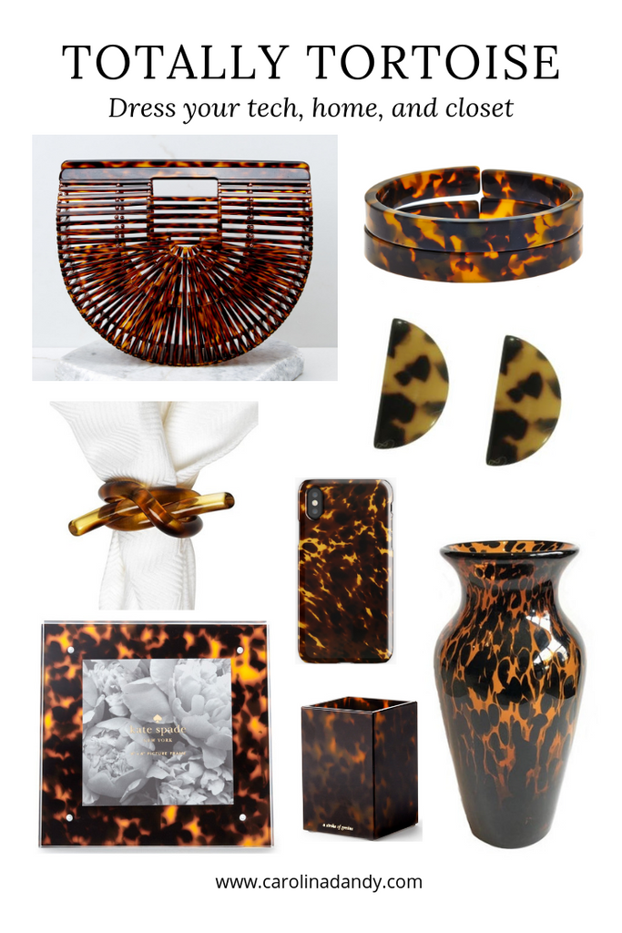 A Complete List of Tortoise Shell Decor Pieces and Accessories for Your Home and Wardrobe