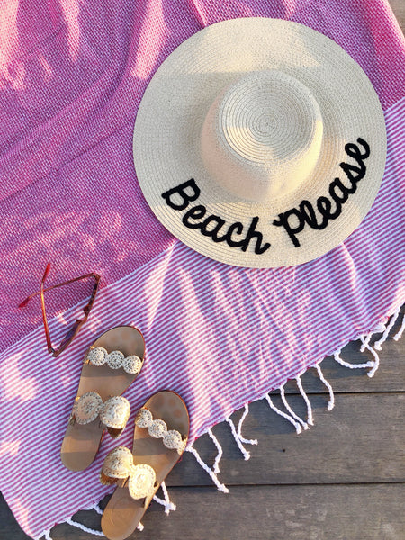 Preppy Must Haves for A Beach Day