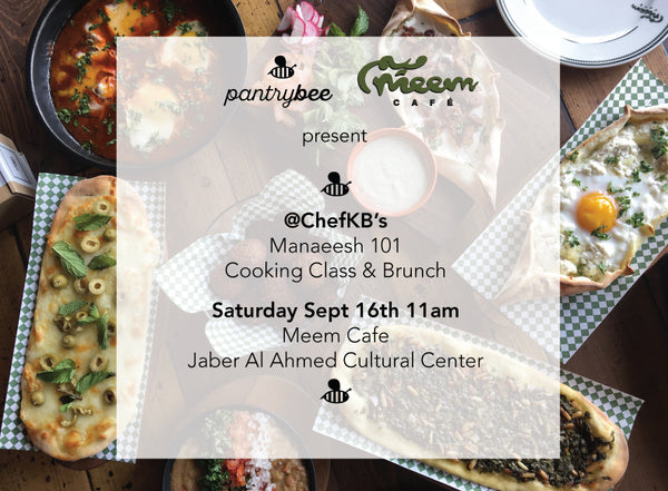 Meem Cafe's Manaeesh 101 Cooking Class & Brunch