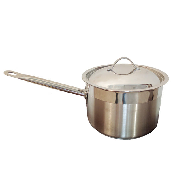 Ozti 18cm Stainless Steel Saucepan with Lid