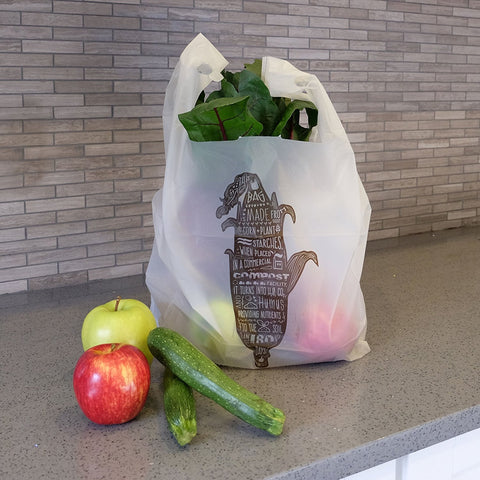 compostable t-sack shopping bags