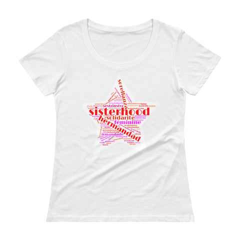 Sisterhood Ladies' Scoopneck T-Shirt