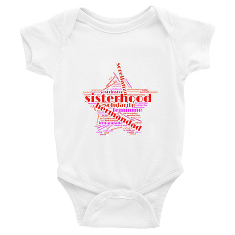 Sisterhood Infant Bodysuit