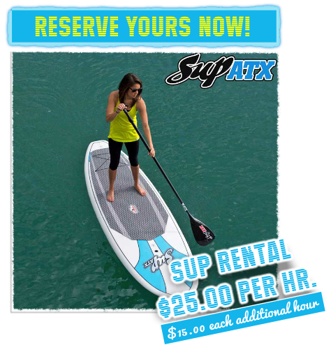 Stand Up Paddle Board (SUP) rental Reserve Now