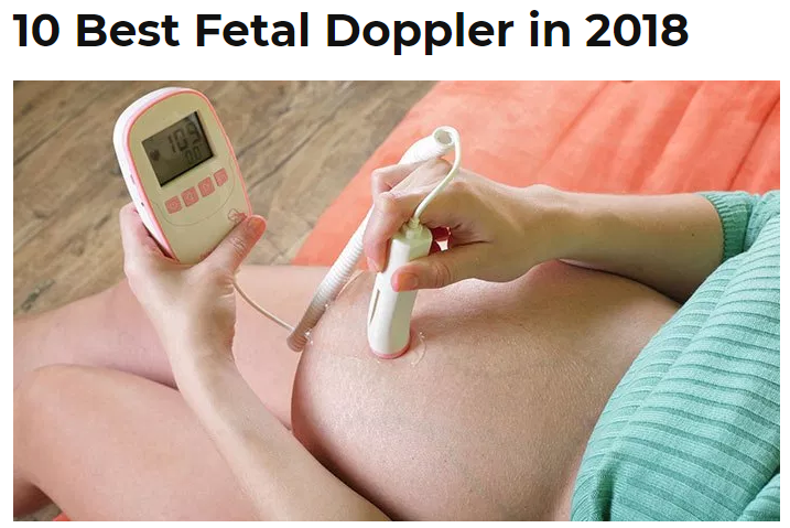10 Best Fetal Doppler in 2018 - Rated by My Babies Planet - Little Martin's Baby Sound Amplifier
