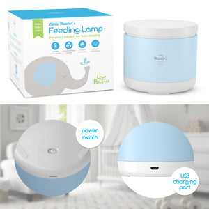 Little Martin's Night Light for Baby Breastfeeding-L.Blue