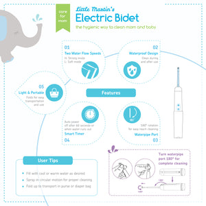 Little Martin's Portable Electric Travel Bidet