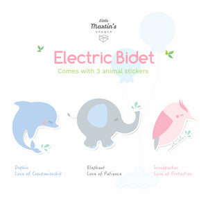 Little Martin's Portable Electric Bidet (Pink)