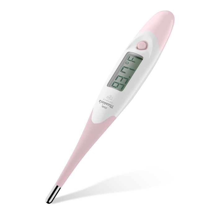Little Martin's Digital Medical Thermometer for Oral Armpit & Rectal Temperature (Pink)