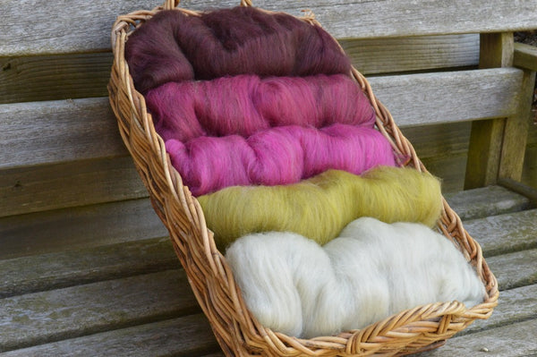 """Stairway to Heaven"" - Haunui/Merino Batts 150g"