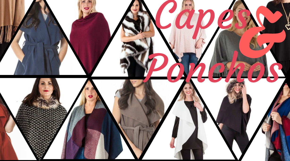 **On-Trend** Capes and Ponchos
