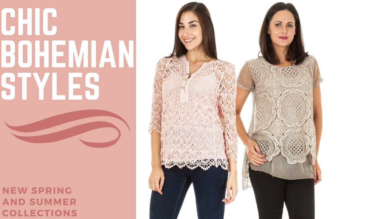 Chic Bohemian Styles : Perfect for this season!