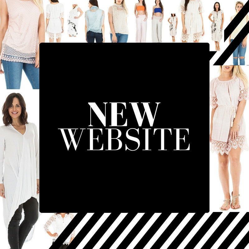 New Website, New Trends & New Products
