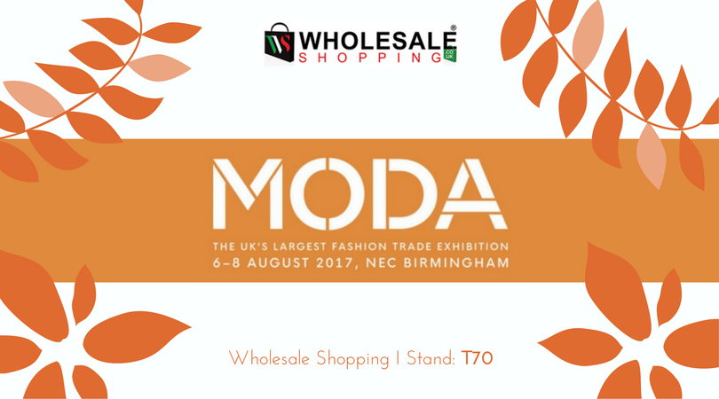 JOIN US at MODA Birmingham, 6 – 8 August 2017