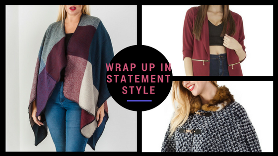 Wrap up in statement style this Autumn!