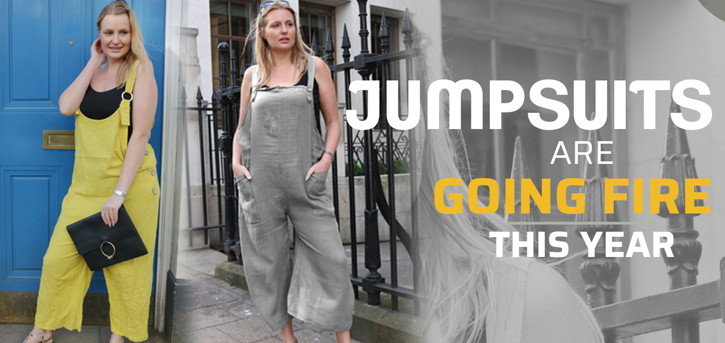 Jumpsuits Are Going Fire This Year