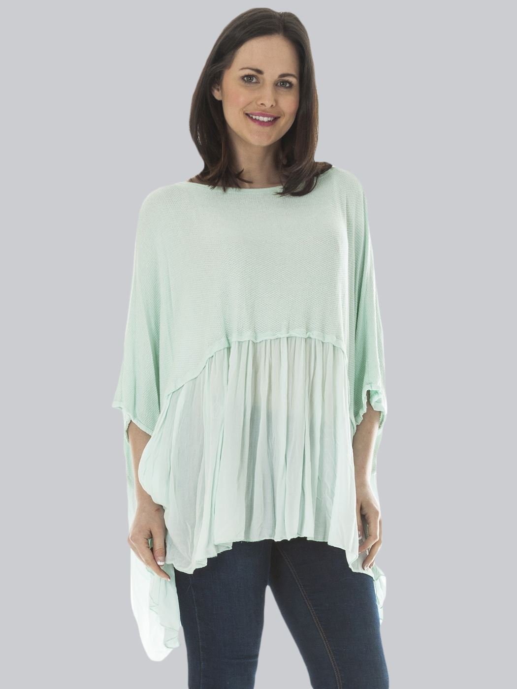 Wholesale Quirky Batwing Smock Top