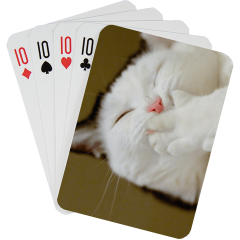 Stock Playing Card Deck - Cute3