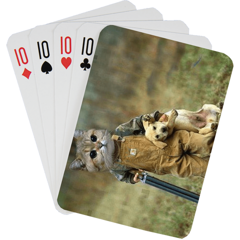 Stock Playing Card Deck - Cute6 - PlayingCardsNow.com