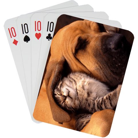 Stock Playing Card Deck - Cute1 - PlayingCardsNow.com