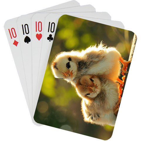 Stock Playing Card Deck - Cute4