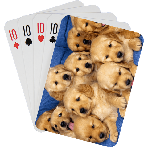 Stock Playing Card Deck - Cute2