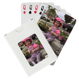 Poker Size Custom Printed Playing Cards (1 Deck)