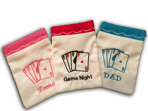 Custom Embroidered Gift Bag - PlayingCardsNow.com