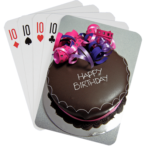 Stock Playing Card Deck - Birthday1