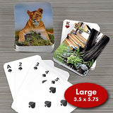 4. Large Size Deck of Cards - PlayingCardsNow.com