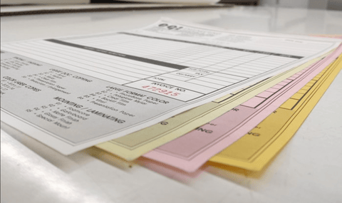 5.5 x 8.5 Carbonless NCR Forms