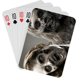 Stock Playing Card Deck - Zombies1 - PlayingCardsNow.com