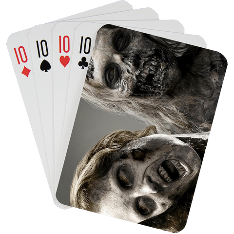 Stock Playing Card Deck - Zombies1