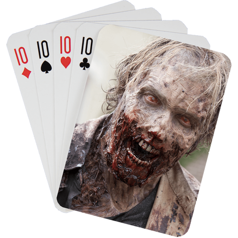 Stock Playing Card Deck - Zombies2