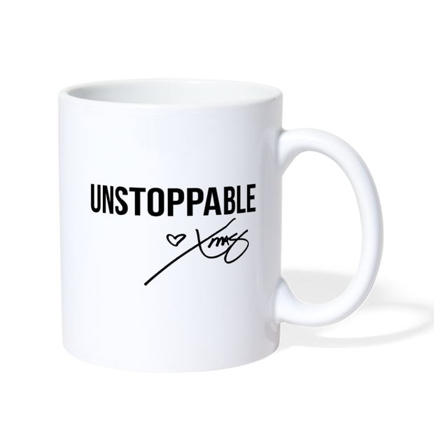 Unstoppable Mug - white