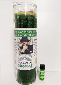 Don Juan Mr. Money Dressed Candle Kit - Don Juan Del Dinero